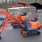 Minibagger ERE 06 und ERE 16